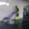 Parkimismaja põrandate puhastamine, 2010