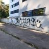 Grafiti eemaldamine betoonpindadelt