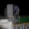 MS Eemshorn sulatamine jääst kuumvesikõrgsurvepesu meetodil