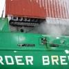 MS Werder Bremen sulatamine jääst kuumvesikõrgsurvepesu meetodil